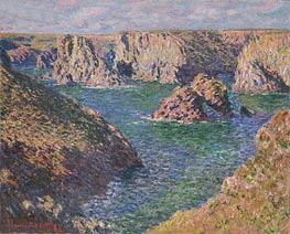 Port-Domois, Belle-Isle, 1887 by Monet | Painting Reproduction