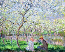 Springtime, 1886 by Monet | Painting Reproduction