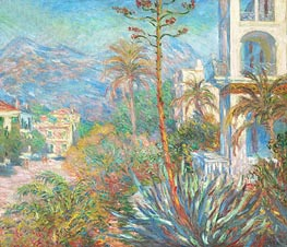 Villas at Bordighera | Monet | Painting Reproduction