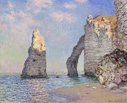 The Cliffs at Etretat | Monet | Painting Reproduction