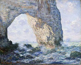 The Manneporte, Etretat | Monet | Painting Reproduction