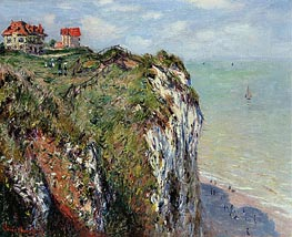 The Cliff at Dieppe | Monet | Gemälde Reproduktion