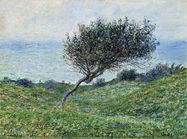 Sea Coast at Trouville | Monet | Gemälde Reproduktion