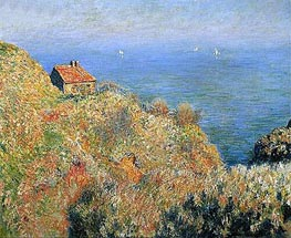 The Fisherman's House at Varengeville | Monet | Gemälde Reproduktion