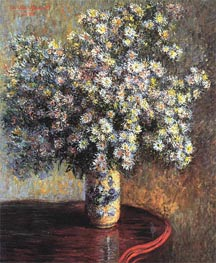 Asters | Monet | Painting Reproduction