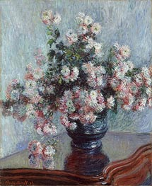 Chrysanthemums | Monet | Painting Reproduction