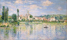 Vetheuil in Summer | Monet | Gemälde Reproduktion