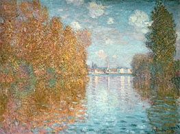 Autumn Effect at Argenteuil, 1873 von Monet | Gemälde-Reproduktion