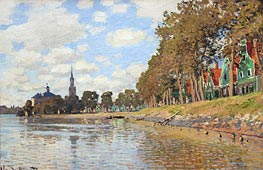 Zaandam, Holland | Monet | Painting Reproduction