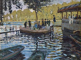 La Grenouillere | Monet | Painting Reproduction