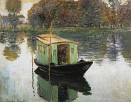 The Studio Boat | Monet | Gemälde Reproduktion