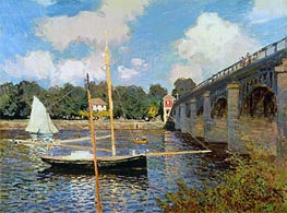 The Bridge at Argenteuil | Monet | Painting Reproduction