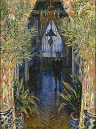 A Corner of the Apartment | Monet | Gemälde Reproduktion