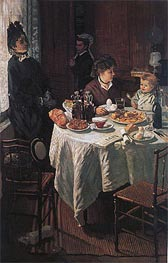 The Luncheon | Monet | Painting Reproduction