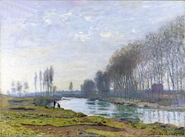 The Petit Bras of the Seine at Argenteuil, 1872 by Monet | Painting Reproduction