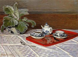 The Tea Set | Monet | Gemälde Reproduktion