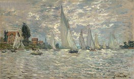 Regatta at Argenteuil | Monet | Gemälde Reproduktion