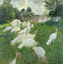 The Turkeys | Monet | Painting Reproduction