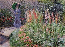 Gladioli | Monet | Painting Reproduction
