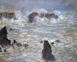 Storm at Belle-Ile | Monet | Painting Reproduction