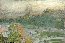 The Tuileries, 1875 by Monet | Painting Reproduction