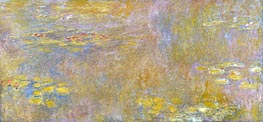 Water-Lilies, a.1907 by Monet   Painting Reproduction