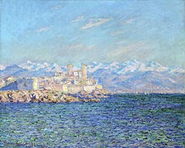 Antibes, Afternoon Effect | Monet | Painting Reproduction