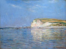 Low Tide at Pourville, near Dieppe | Monet | Painting Reproduction