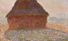 Haystack in the Sunlight | Monet | Painting Reproduction