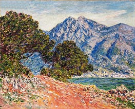 Cap Martin, 1884 by Monet | Painting Reproduction