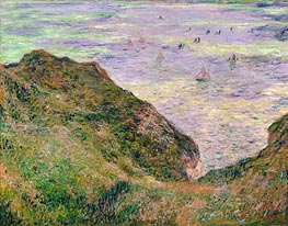 Low Tide at Varengeville, 1882 by Monet | Painting Reproduction