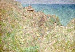 Cliffs at Varengeville | Monet | Painting Reproduction