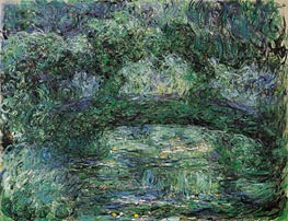 The Japanese Bridge | Monet | Painting Reproduction