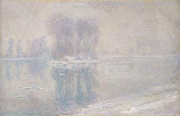 Ice Floes | Monet | Painting Reproduction