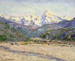 The Valley of the Nervia | Monet | Painting Reproduction