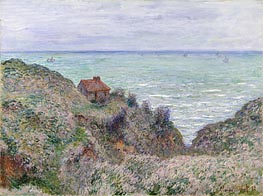 Cabin of the Customs Watch | Monet | Painting Reproduction