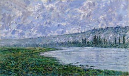The Seine at Vetheuil | Monet | Painting Reproduction