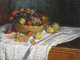 Apples and Grapes | Monet | Painting Reproduction
