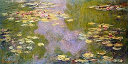 Water Lilies   Monet   Painting Reproduction