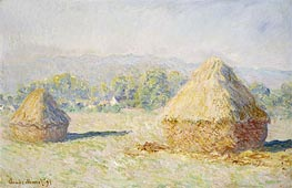 Haystacks, Morning Effect | Monet | Gemälde Reproduktion