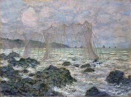 The Nets | Monet | Gemälde Reproduktion