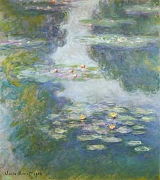 Water Lilies, Nympheas   Monet   Painting Reproduction
