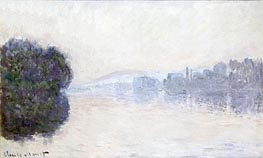 The Seine near Vernon, Morning Effect | Monet | Painting Reproduction