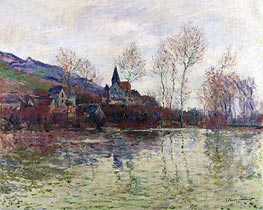 Floods at Giverny | Monet | Painting Reproduction