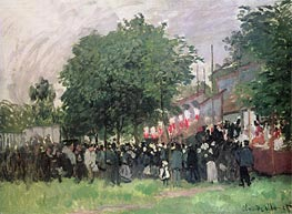 The Fourteenth of July (Bastille Day) | Monet | Painting Reproduction