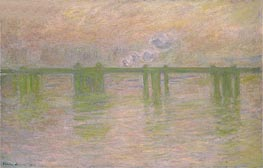 Charing Cross Bridge | Monet | Painting Reproduction