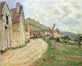 The Rocks at Falaise | Monet | Painting Reproduction