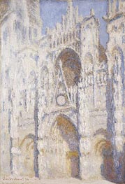 Rouen Cathedral, Afternoon (The Portal, Full Sunlight) | Monet | Painting Reproduction