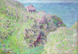Customs House at Varengeville | Monet | Painting Reproduction