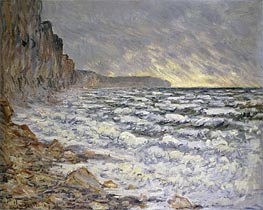 Seafront, Fecamp | Monet | Painting Reproduction